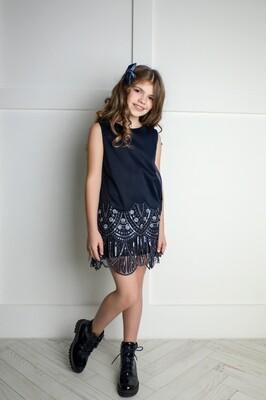 Платье Бахрома