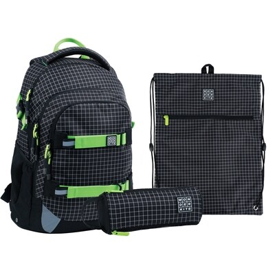 Набор рюкзак + пенал + сумка для обуви