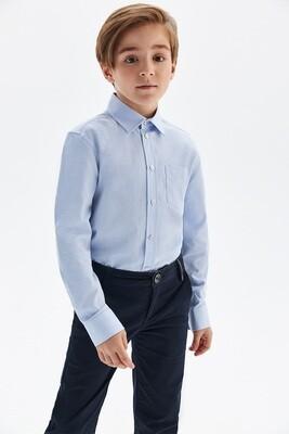 Сорочка длинный рукав на кнопках