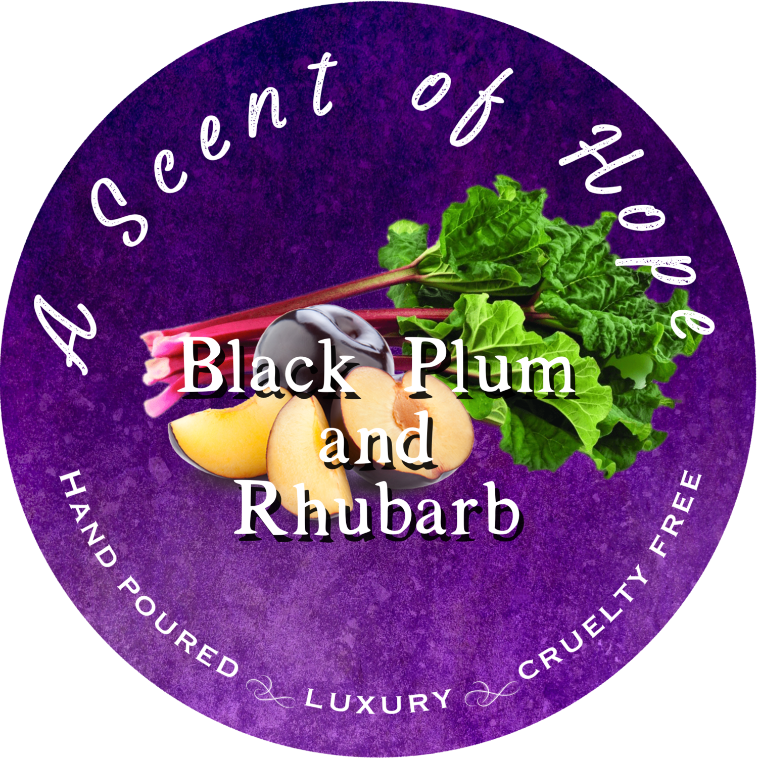Black Plum and Rhubarb