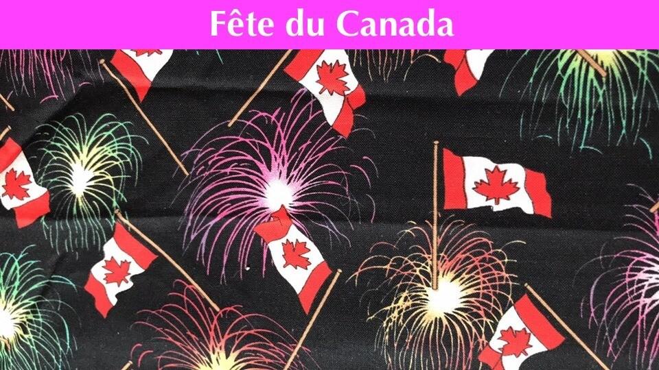 Masque - Fête du Canada