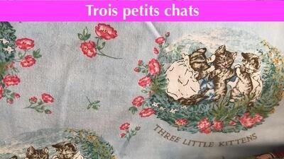 Masque - Trois Petits Chats