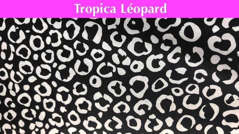Masque - Tropical Léopard
