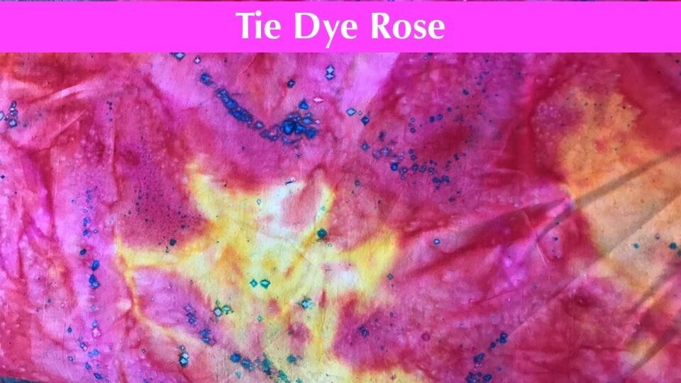 Masque premium - Tie Dye Rose