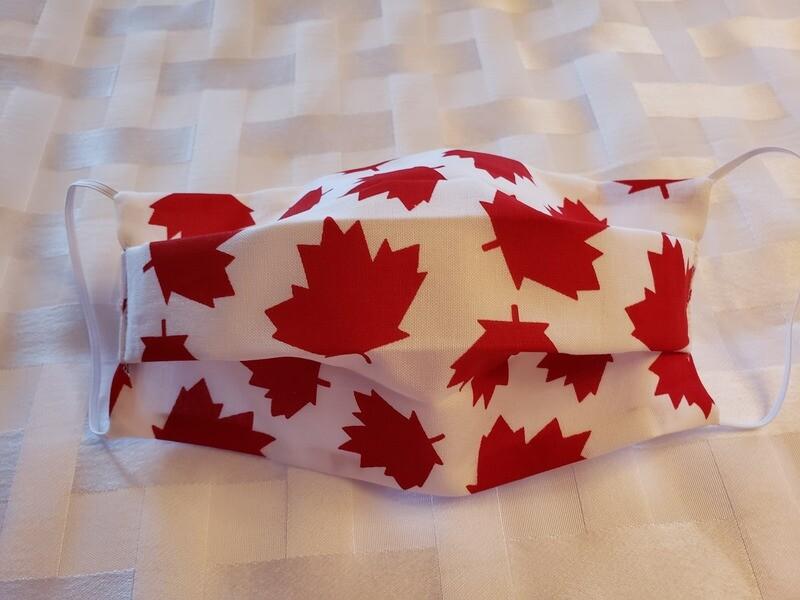 Masque - Feuille D'érable Canadien