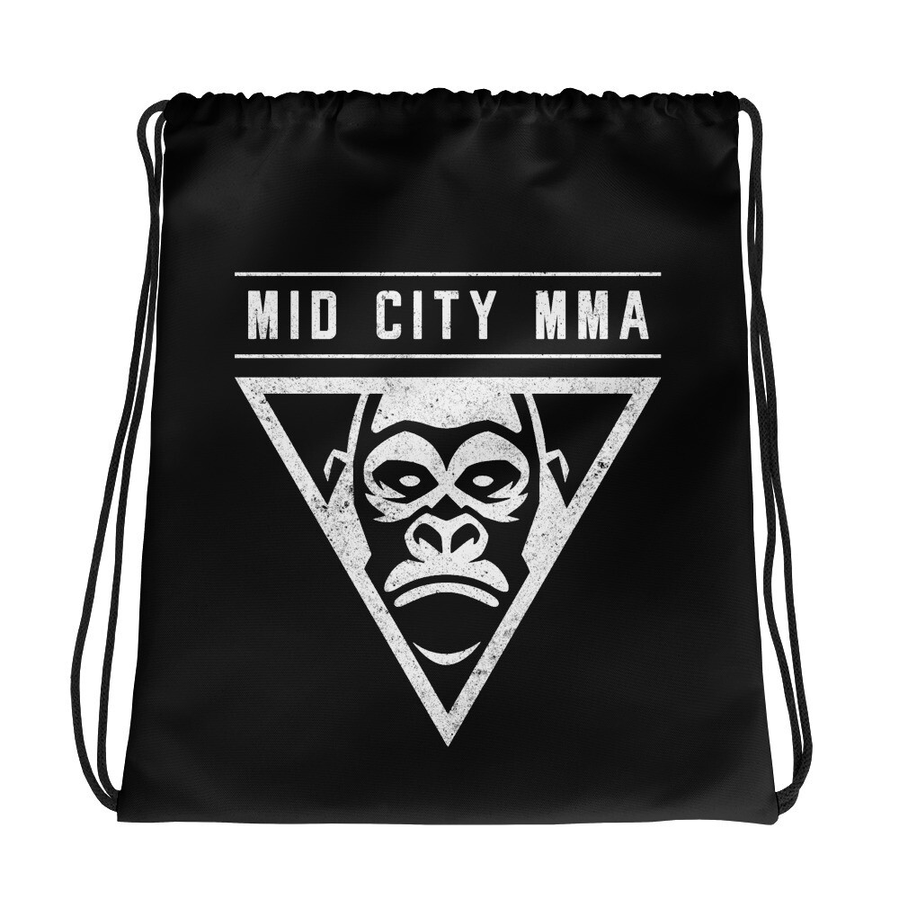 Mid City MMA Drawstring Bag