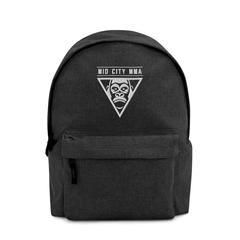 Mid City MMA Embroidered Backpack