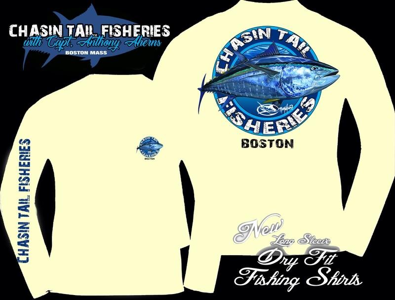 Chasin Tail Dry Fit Long Sleeve Fishing Shirt Yellow