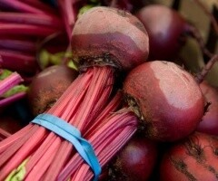 Bunched Beetroot.   English