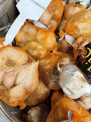 Smoked garlic net