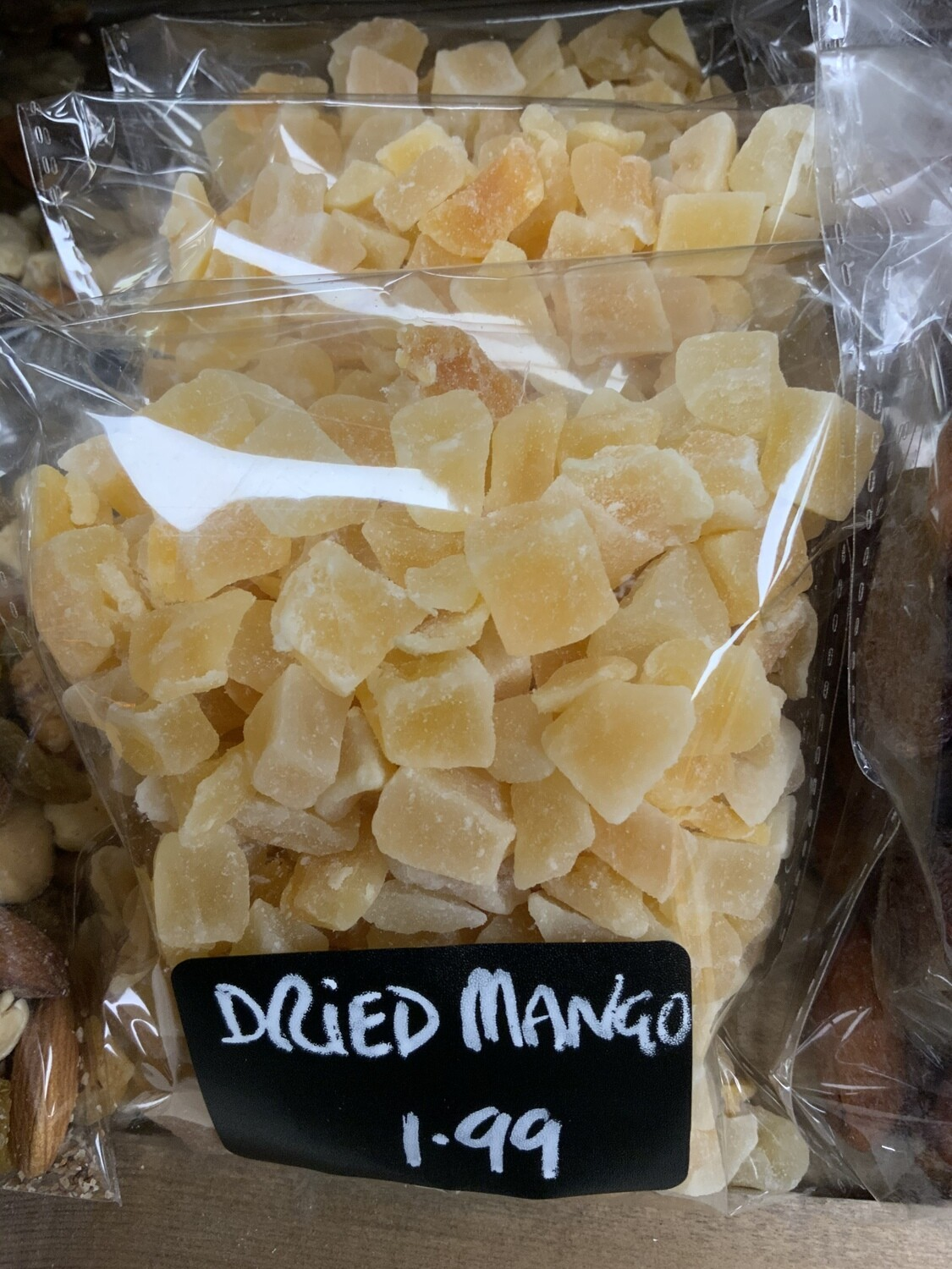 Dried Diced Mango.  200g