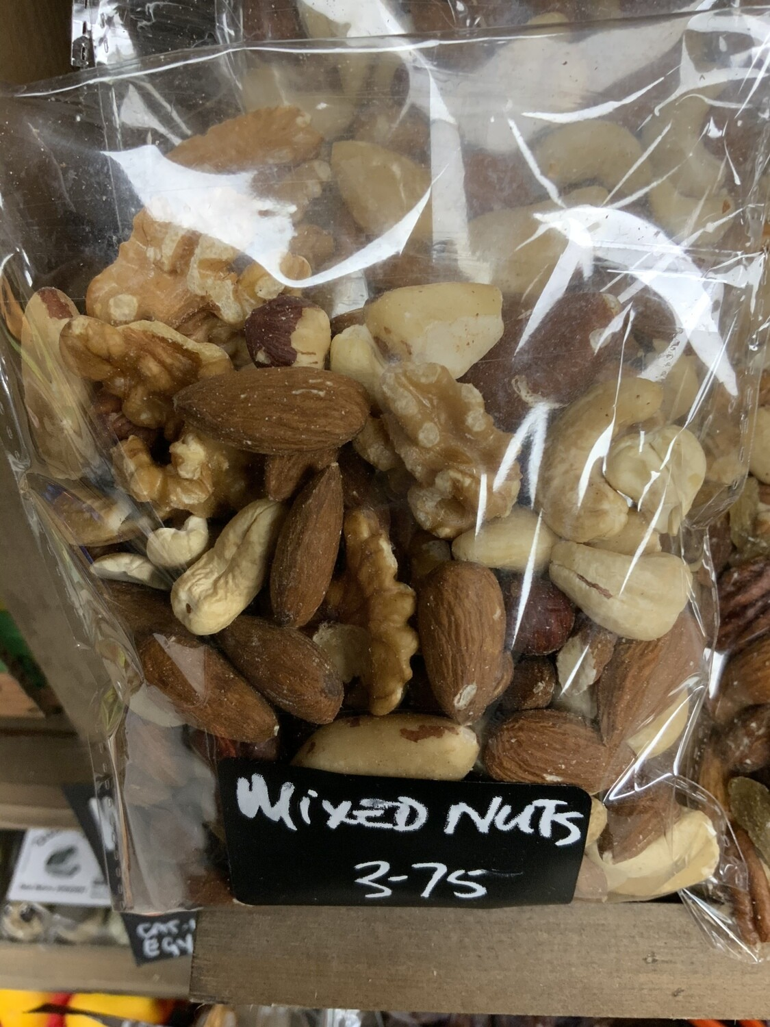 Deluxe Mixed Whole Nuts.  150g