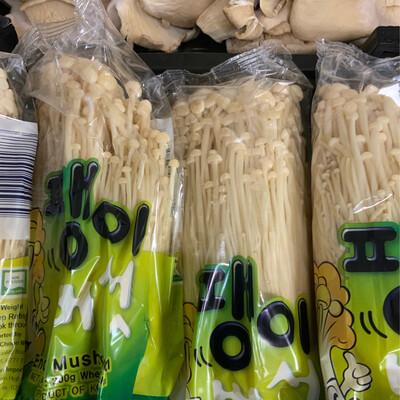 Enoki Mushrooms pack