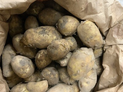 Jersey Royal Potatoes. New season. 250g pack