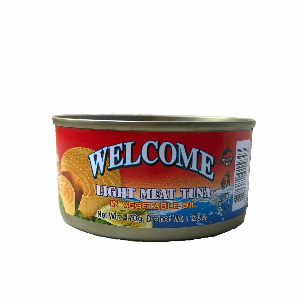 Welcome Light Meat Tuna In Vegetable Oil