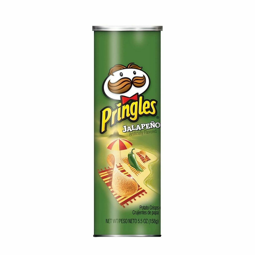 Pringles Jalapeno Potato Chips