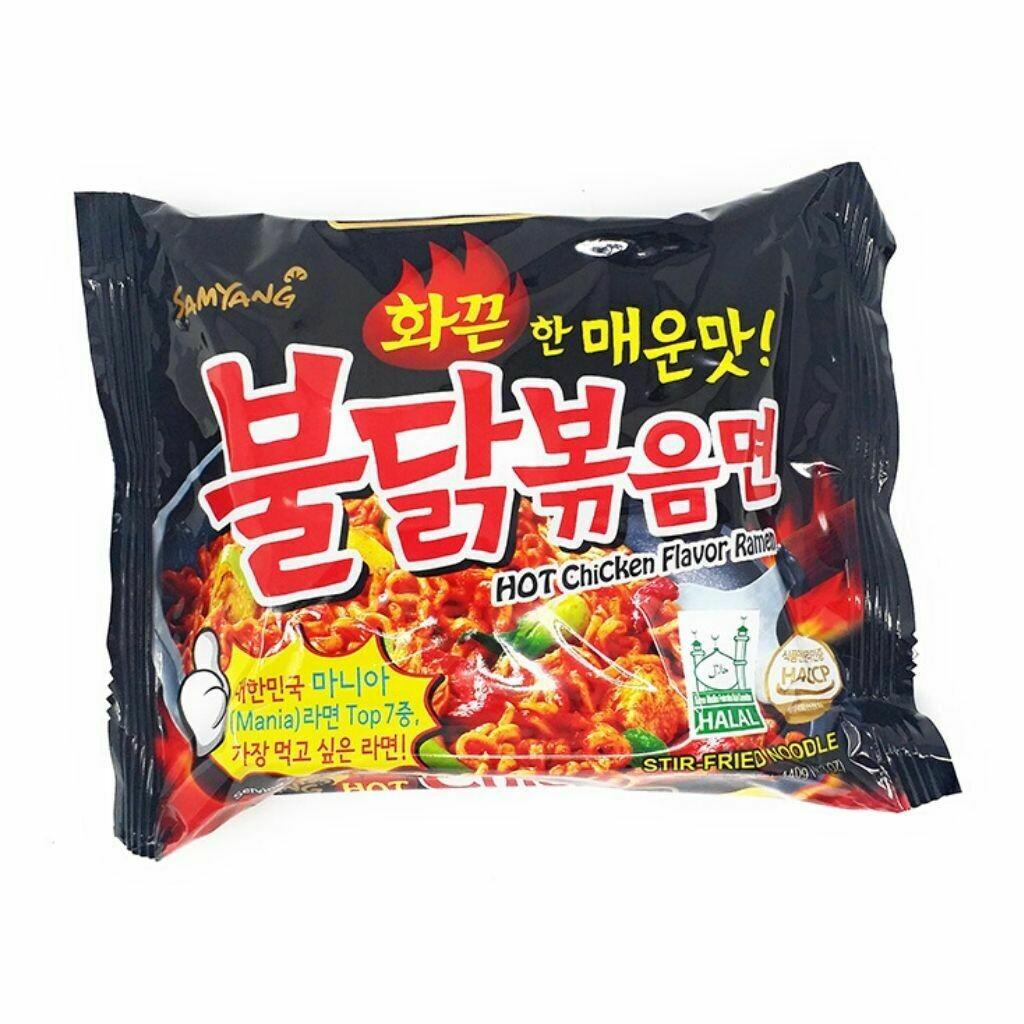 Samyang Hot Chicken Flavor Ramen Noodles Soup