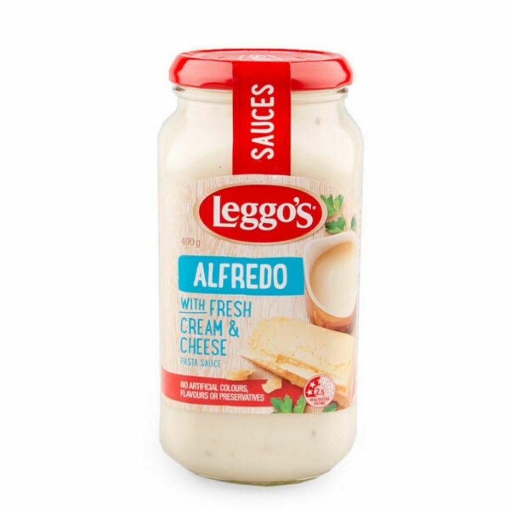 Leggos Alfredo with Fresh Cream & Cheese Pasta Sauce