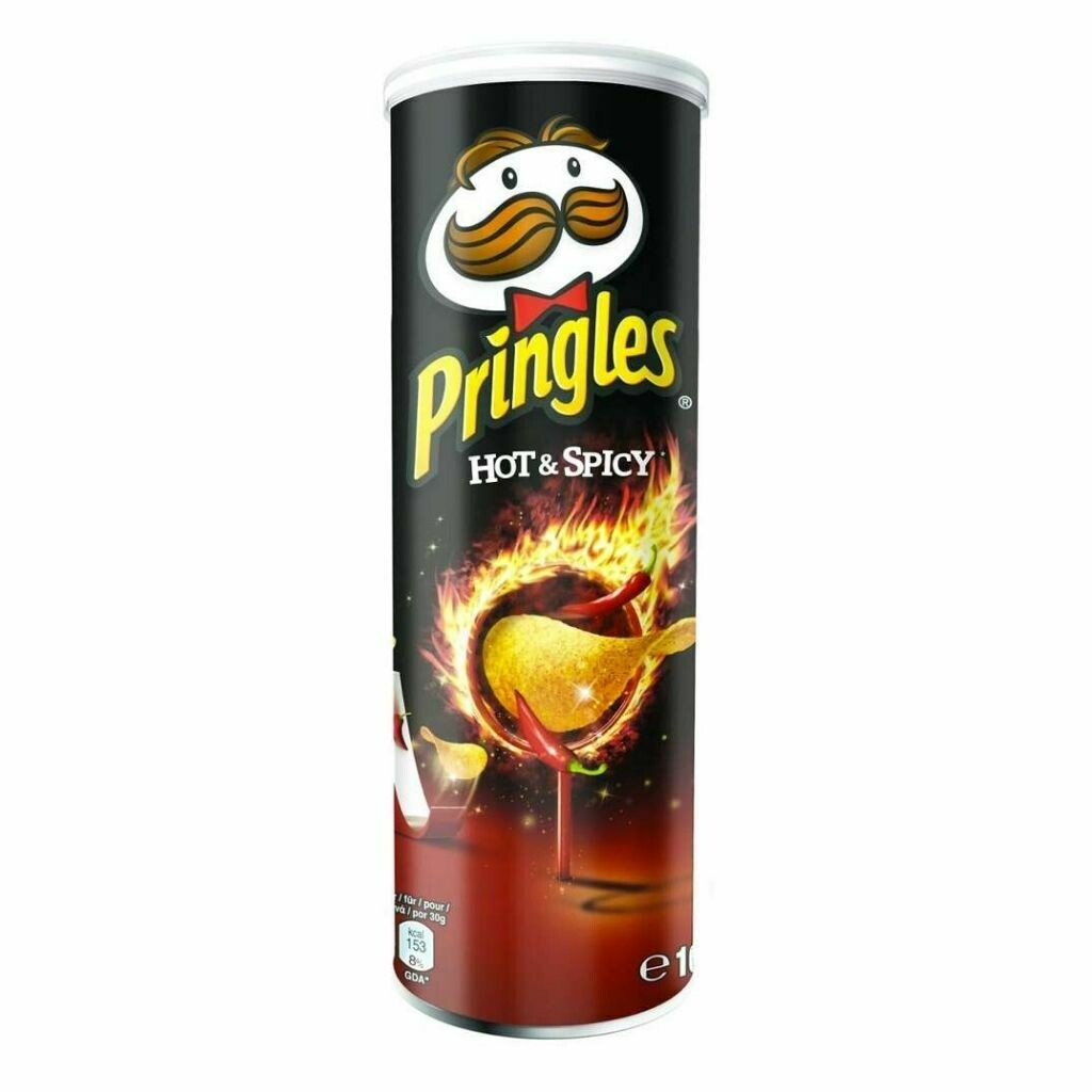 Pringles Hot & Spicy Potato Chips