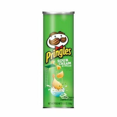 Pringles Sour Cream & Onion Potato Chips