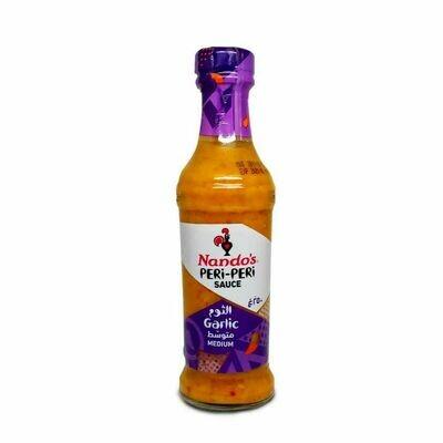 Nandos Peri Peri Garlic Medium Hot Sauce