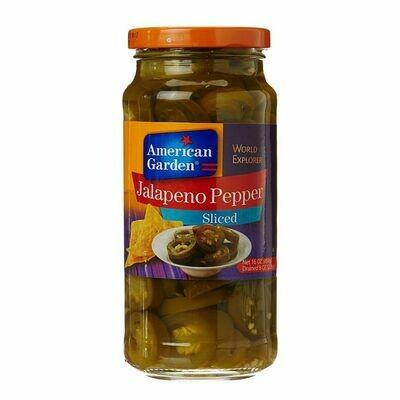 American Garden Jalapeno Pepper Sliced Olives