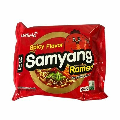Samyang Spicy Chicken Flavor Ramen Noodles