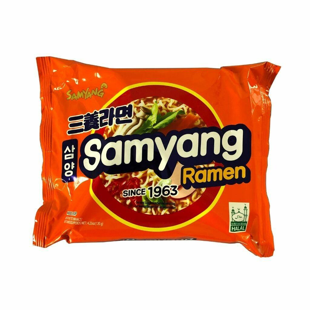 Samyang Mild Soup Ramen Noodles