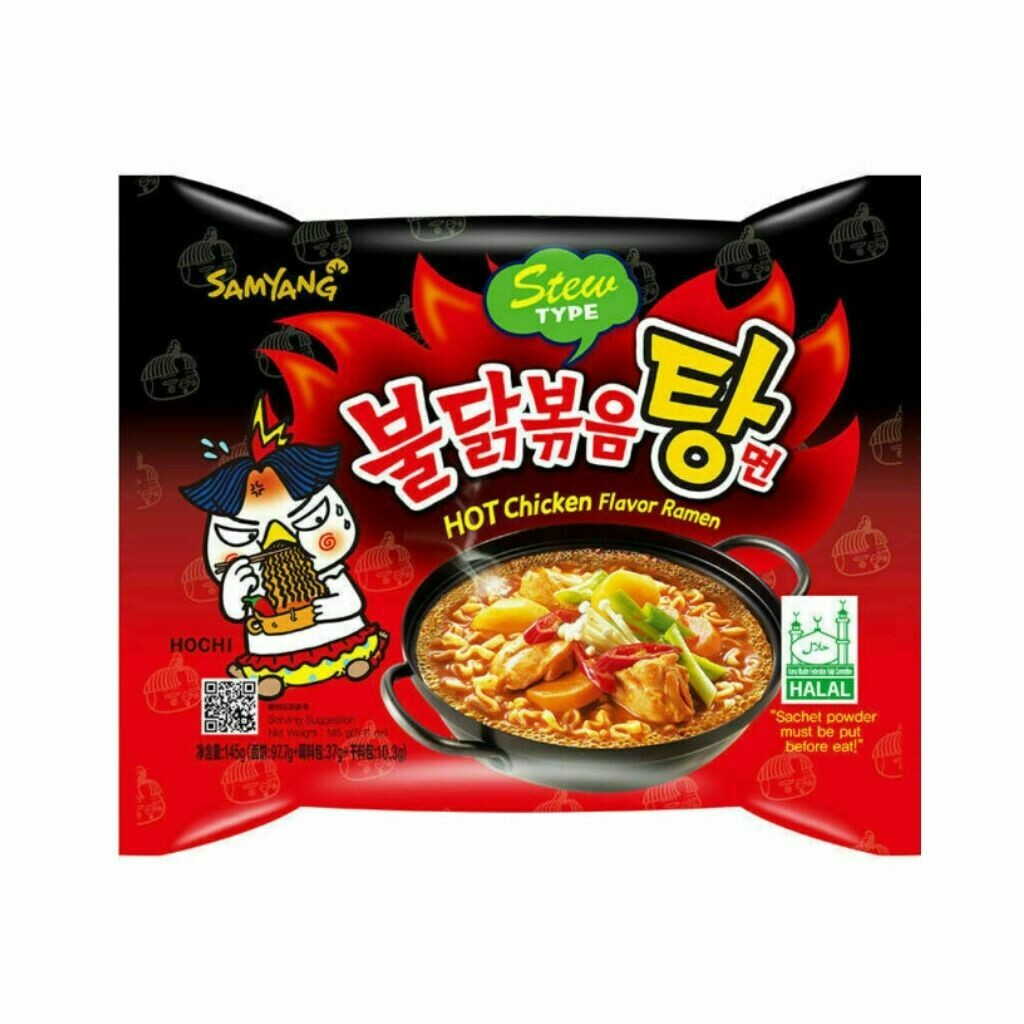 Samyang Stew Type Hot Chicken Flavor Ramen Noodles