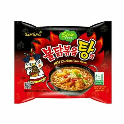 Samyang Stew Type Hot Chicken Flavor Ramen Noodles
