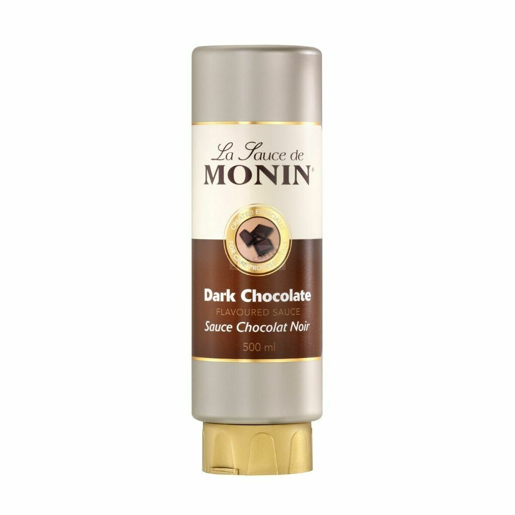 Monin Dark Chocolate Sauce - 500ml
