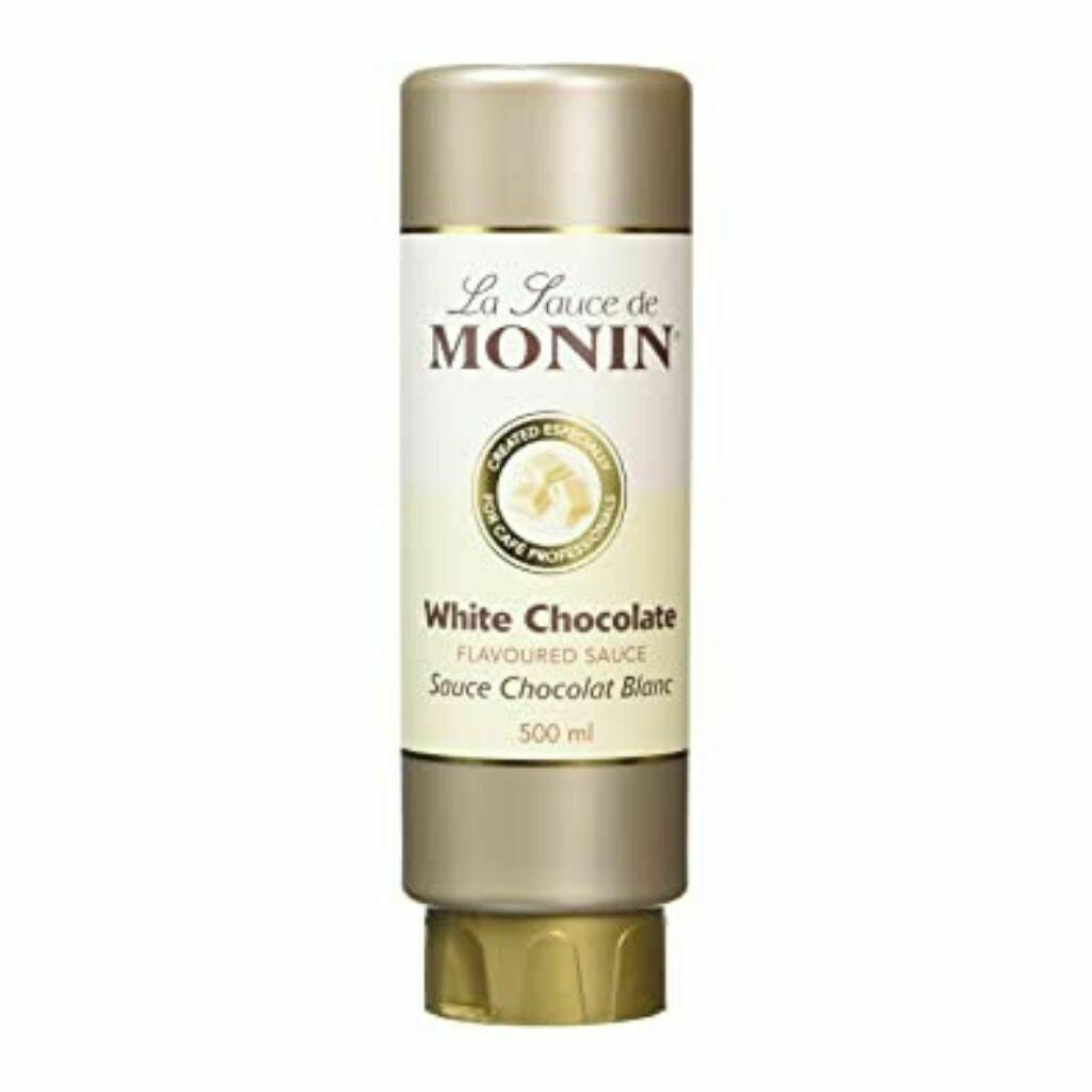 Monin White Chocolate Sauce - 500ml