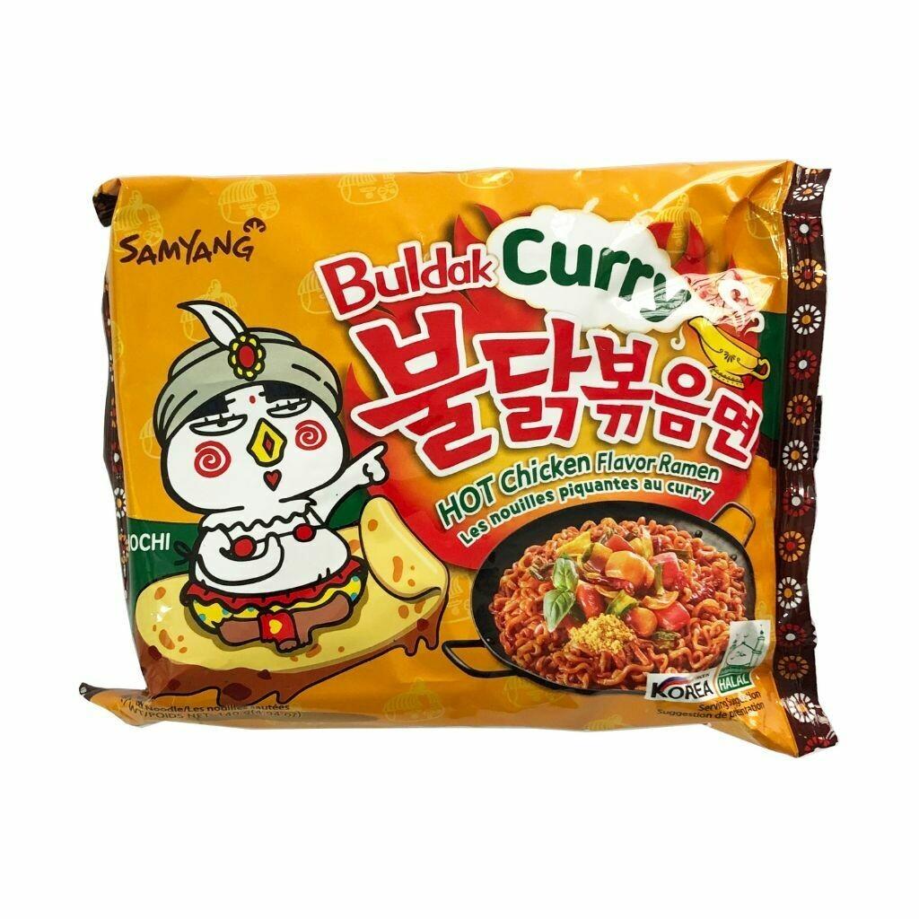Samyang Buldak Curry Hot Chicken Flavor Ramen Noodles