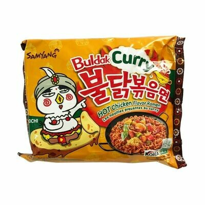 Samyang Buldak Curry Hot Chicken Flavor Ramen Noodles