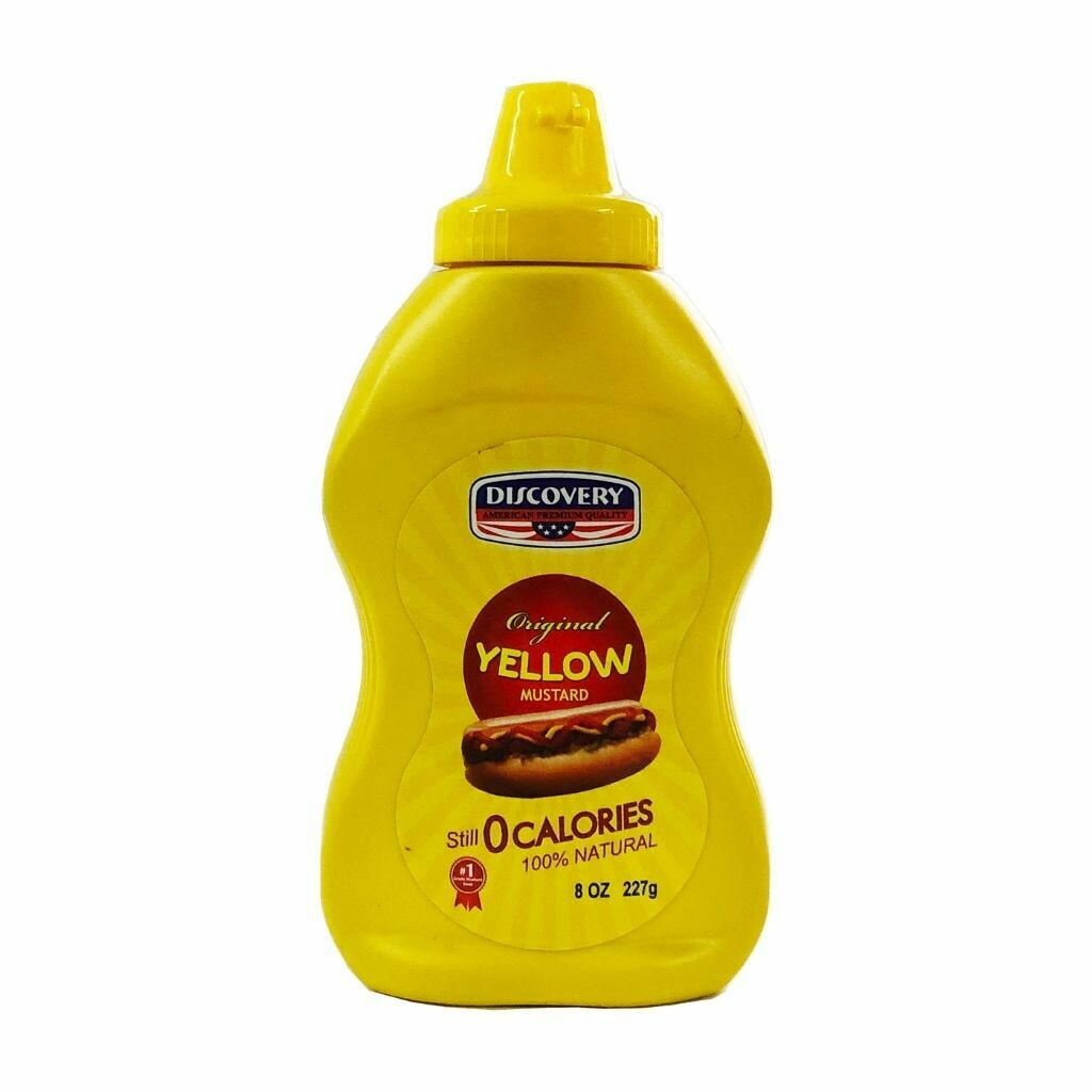 Discovery Yellow Mustard - 397g