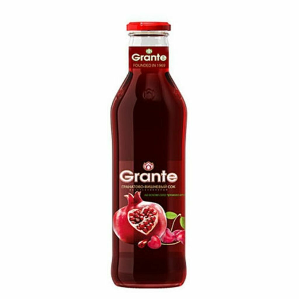 Grante Juices - Pomegranate & Cherry Juice-250ml