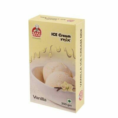 Bakeman Ice Cream Mix- Vanilla