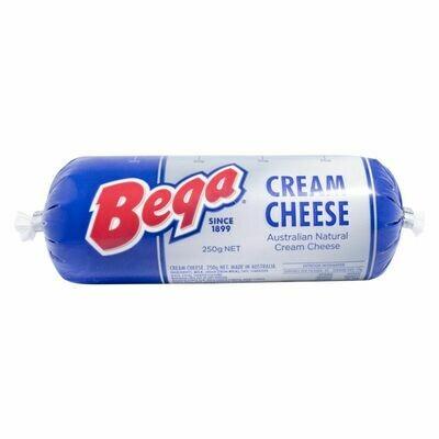 Bega Australian Natural Cream Cheese - 250gm