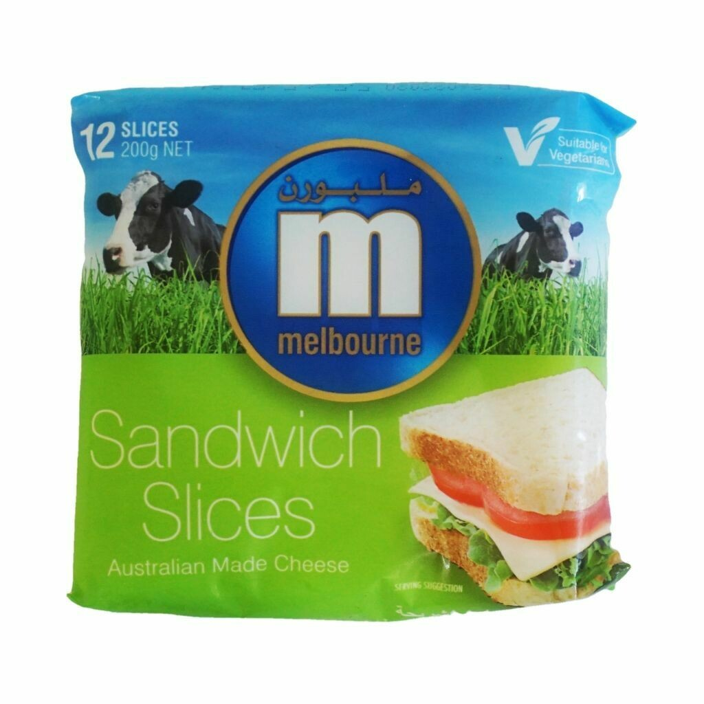 Melbourne Australian Made Cheese Sandwich Slices