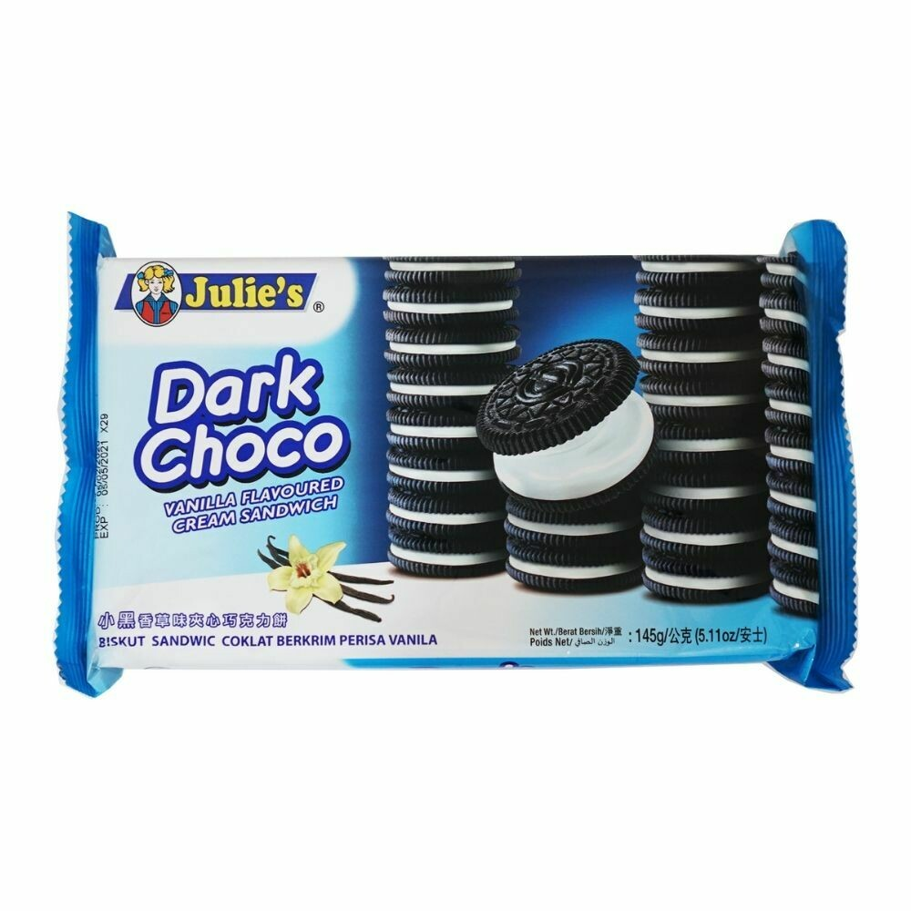 Julie's Dark Choco biscuit