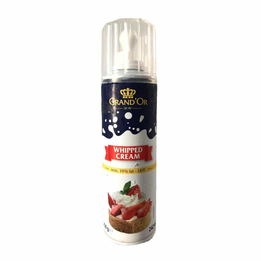 Spray Whipped Cream - Grand'or