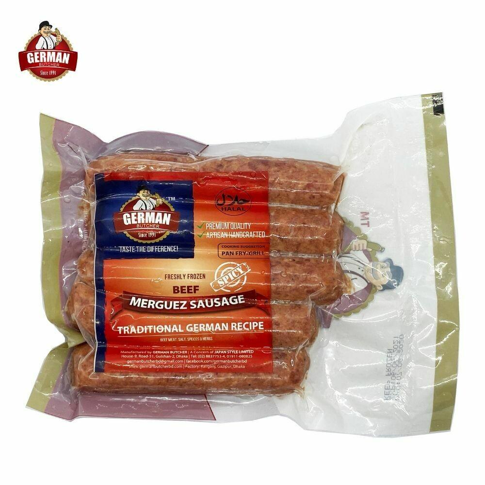 Beef Merguez Sausage - German Butcher