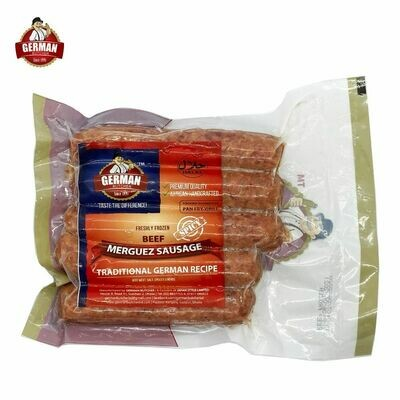 Beef Merguez Sausage - German Butcher