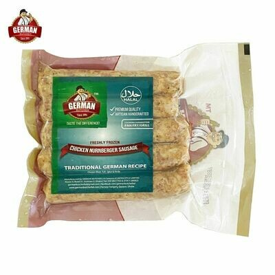 Chicken Nurnberger Sausage -German Butcher