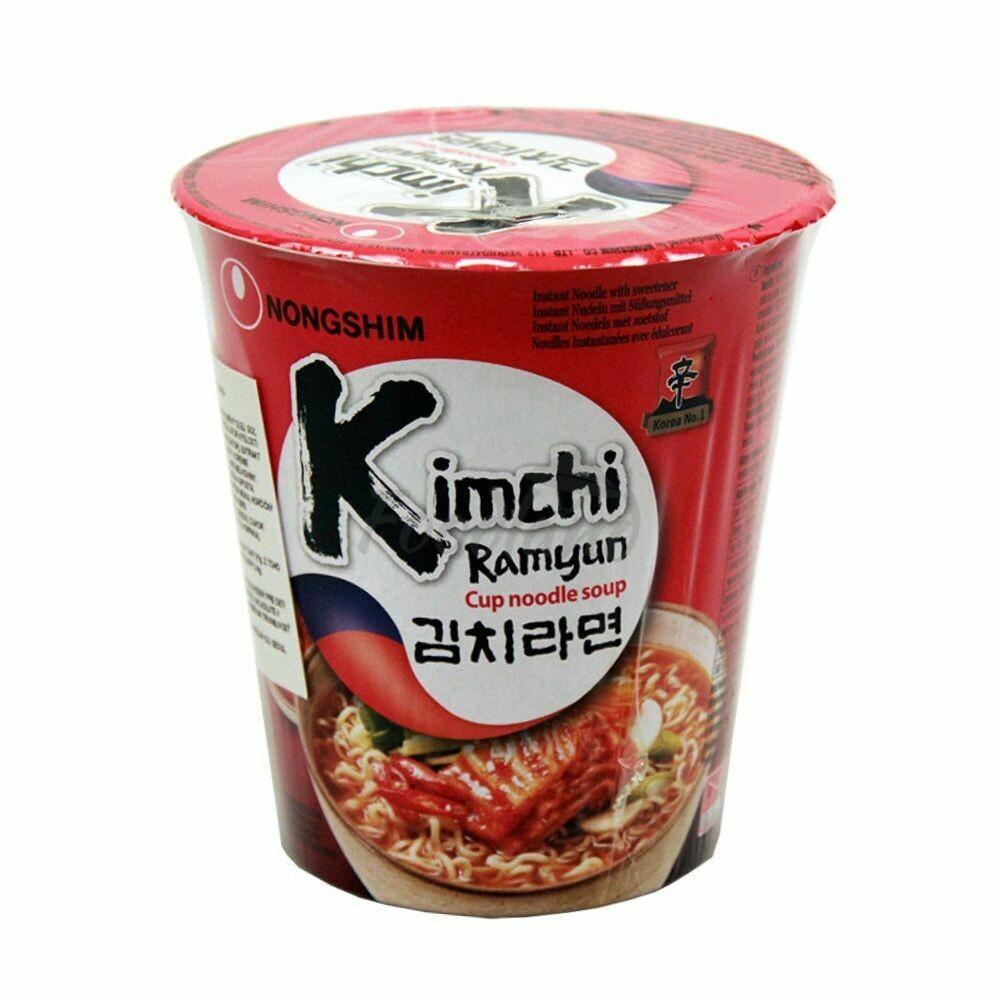 Nongshim Kimchi Ramen Cup Noodles Soup