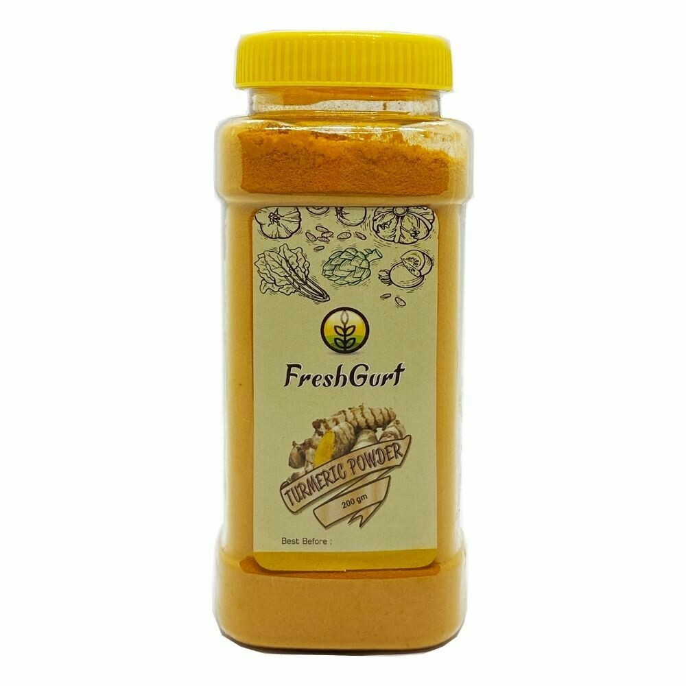 Freshgurt - Turmeric Powder ( হলুদ গুঁড়া) - 200gm