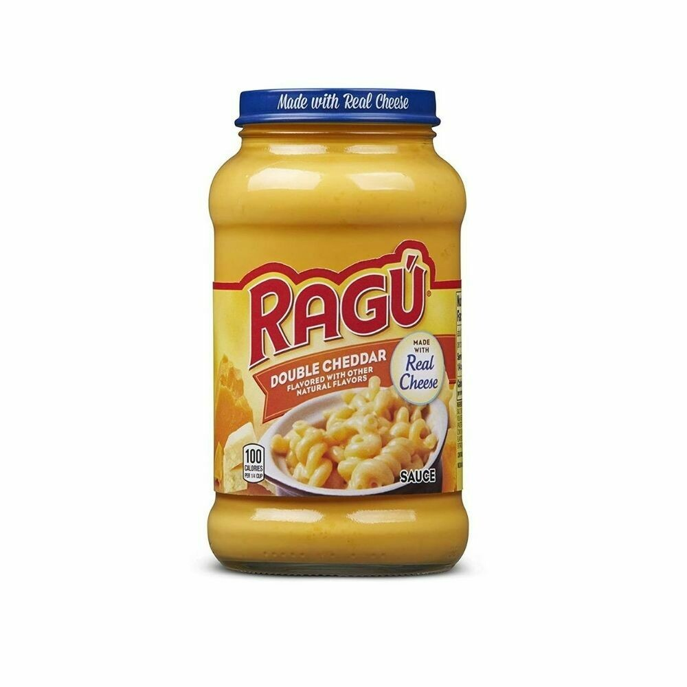 Ragu Cheesy Double Cheddar Sauce