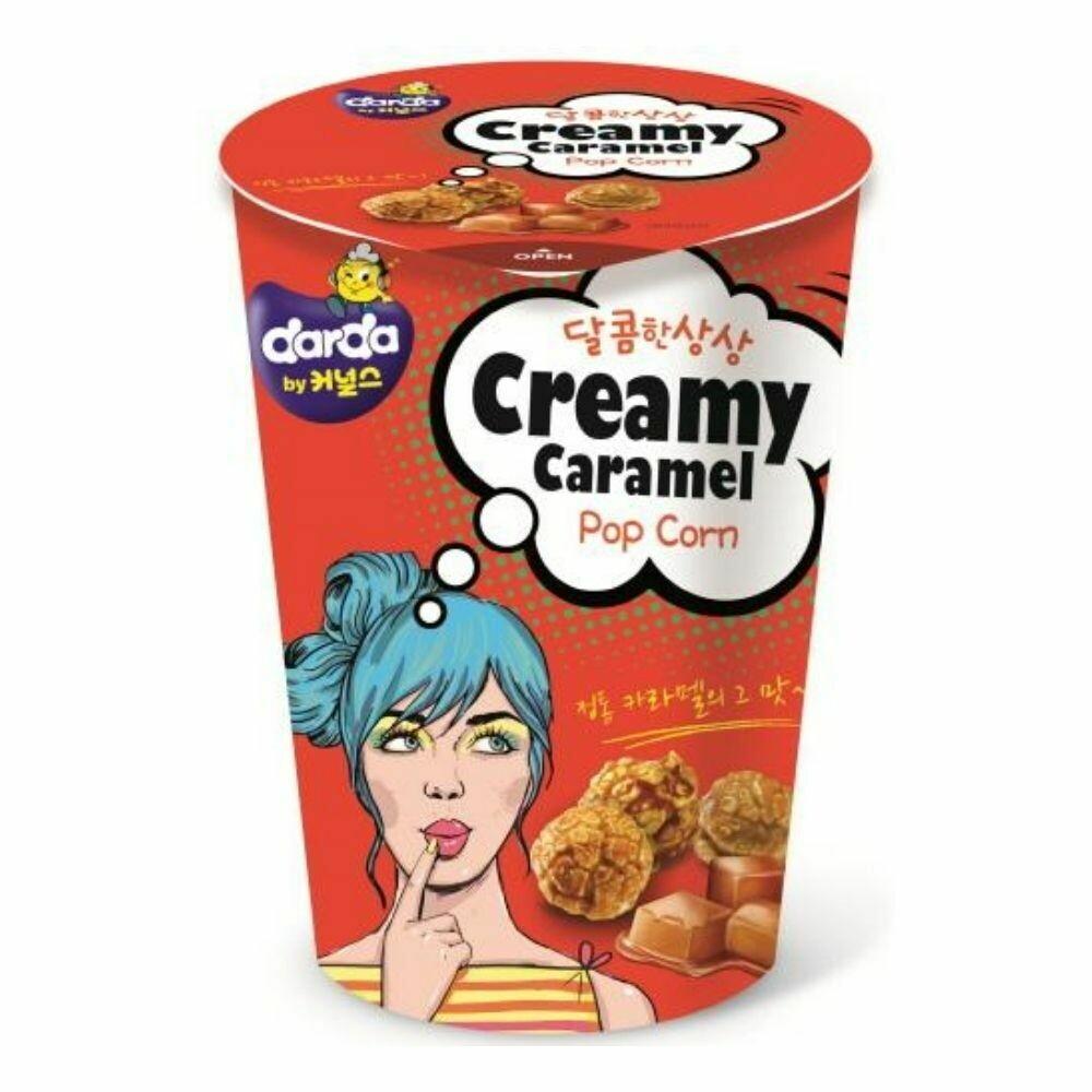 Creamy Caramel Popcorn - Darda