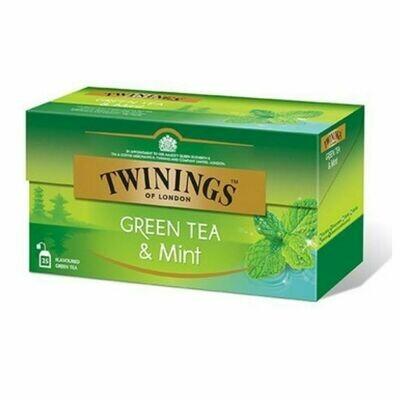 Green Tea & Mint-Twinings of London
