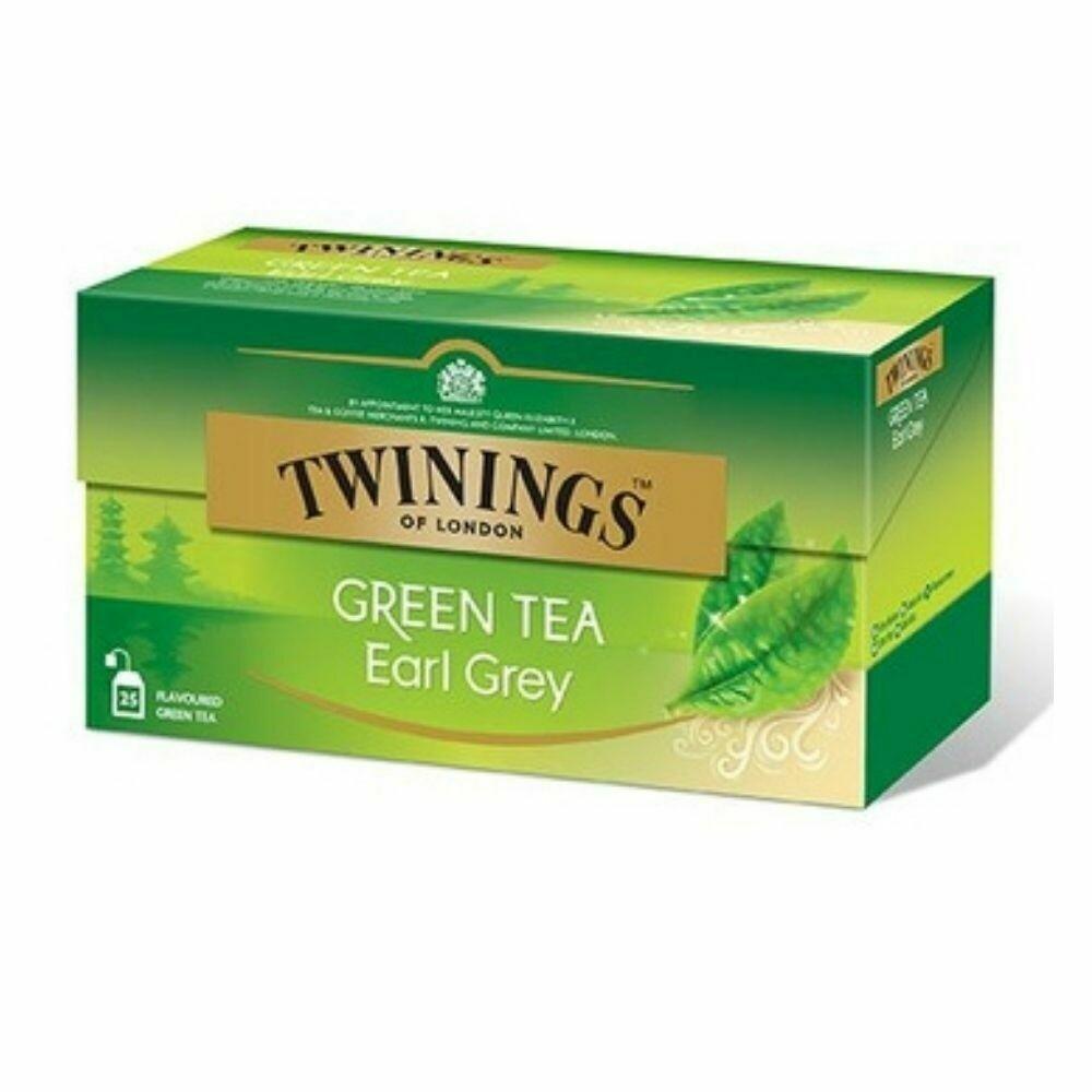 Green Tea Earl Grey-Twinings of London